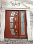 Model 041 Custom Meranti Wood Exterior Door