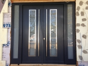 Model 082 Custom Meranti Wood Exterior Door