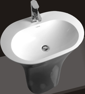 Model 1383 Bathroom Pedestal Sink