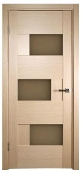 Dominika Glass Interior Door Bleached Oak Finish