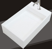 Model 1363 Bathroom Wallmount Sink