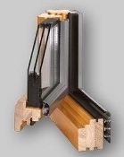 Gemini Softline Wood/Aluminum Tilt and Turn Window