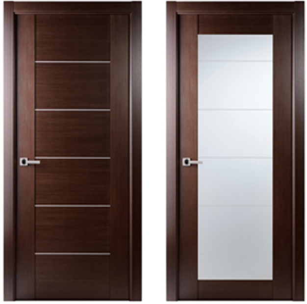 Maximum Interior Door Wenge Finish Modern Home Luxury - Interior doors