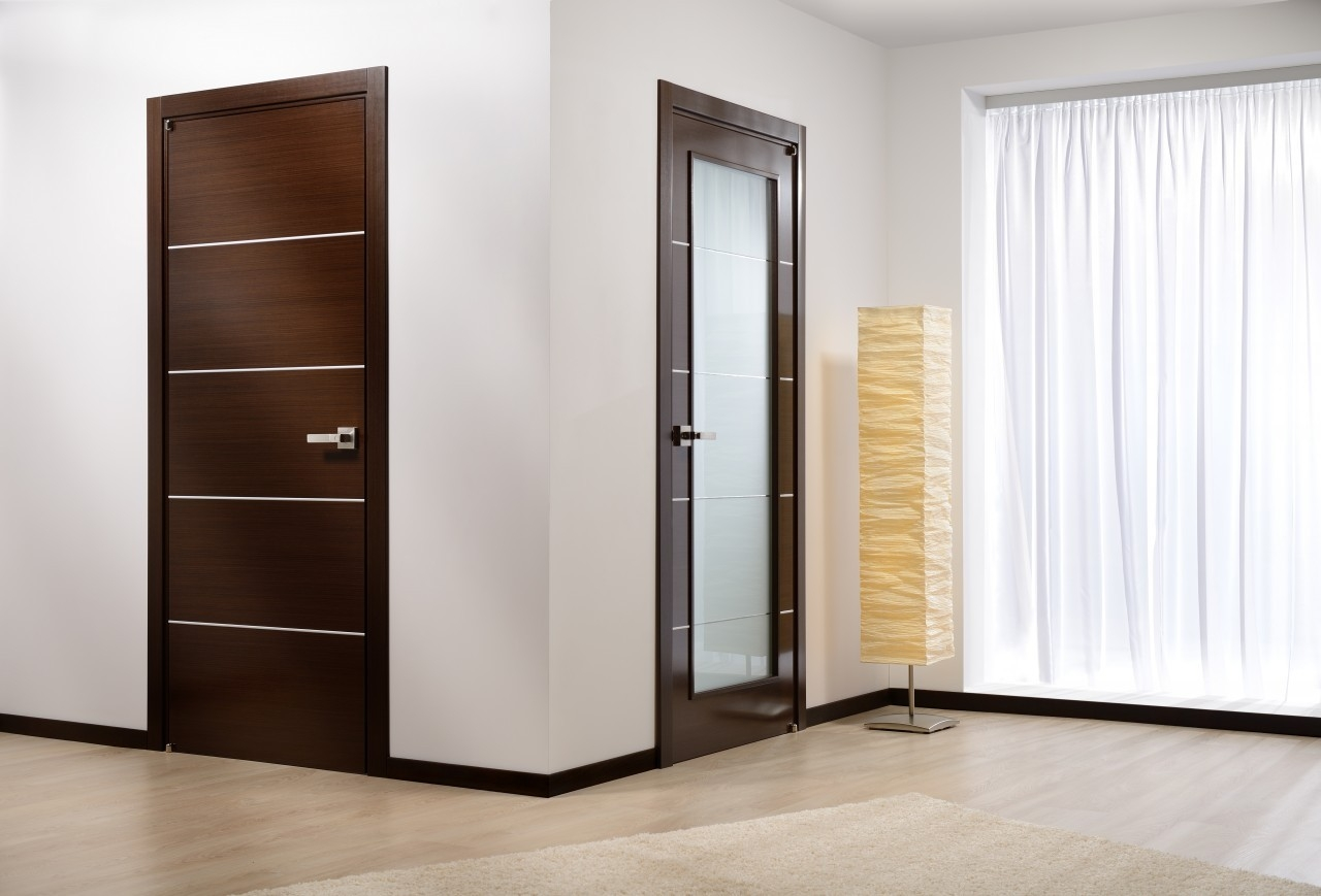 Mia Modern Interior Door Wenge Finish & Mia Modern Interior Door Wenge Finish - Modern Home Luxury pezcame.com