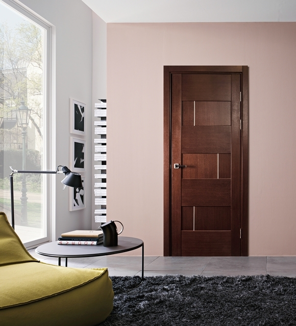 Dominika interior door wenge finish modern home luxury - Modern home luxury doors ...