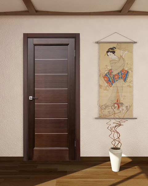Lagoon Interior Door Wenge Finish Modern Home Luxury