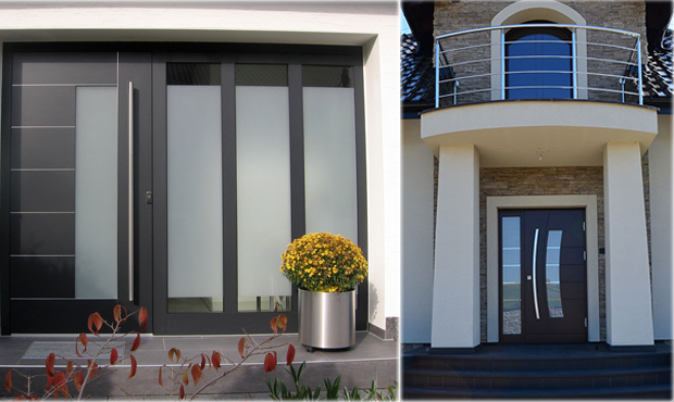 Modern Exterior Metal Doors contemporary exterior doors - modern home luxury