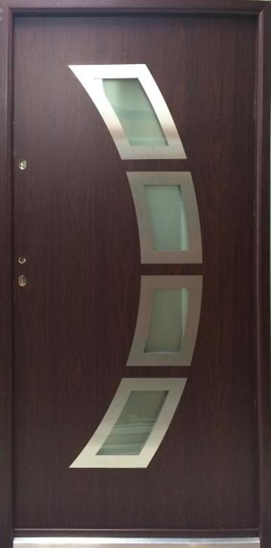 Miami Steel Modern Exterior Door With Glass Modern Home Luxury