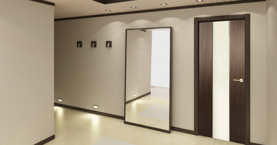 Just knock on the door and you will realize which one is solid inside and which one is not. Solid core doors are heavier stronger last longer and ... & Loda Glass Interior Door Wenge Finish - Modern Home Luxury
