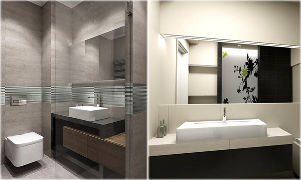 modern bathroom design - Luxurious Bathroom Vanity